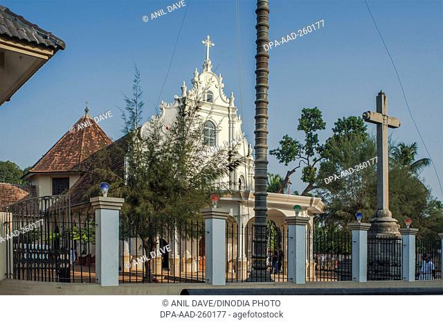 church, alleppey, kerala, India, Asia
