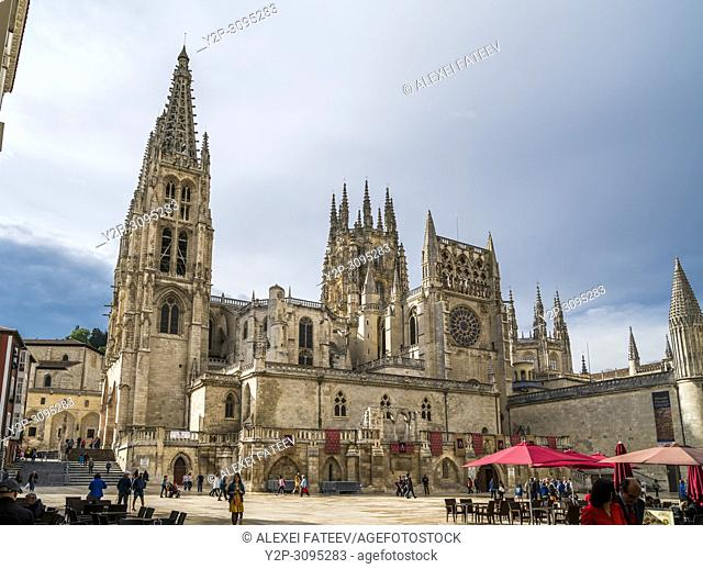 Catedral de Santa María in Burgos, Castile and Leon, Spain