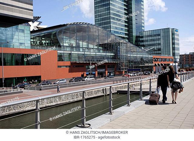 Newly built cruise terminal, Amsterdam, Holland region, Netherlands, Europe