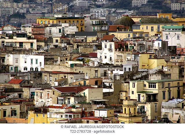 Naples (Italy). Spanish neighborhood in the city of Naples