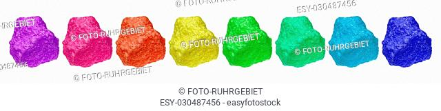 The chemical element sulfur is in the periodic system in the sixth main group and has the period number 16th