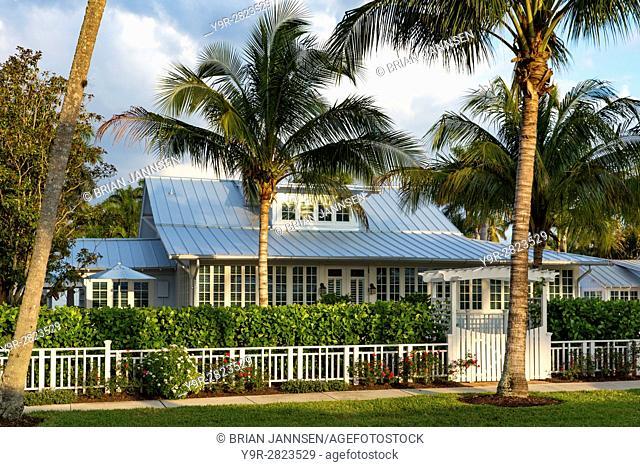 Historic Bones Cottage (b. 1921), Naples, Florida, USA
