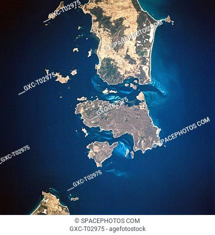 The Furneaux Group of islands, consisting of over 40 islands, extends northward from the northeast tip of Tasmania. The relationship of the three largest...
