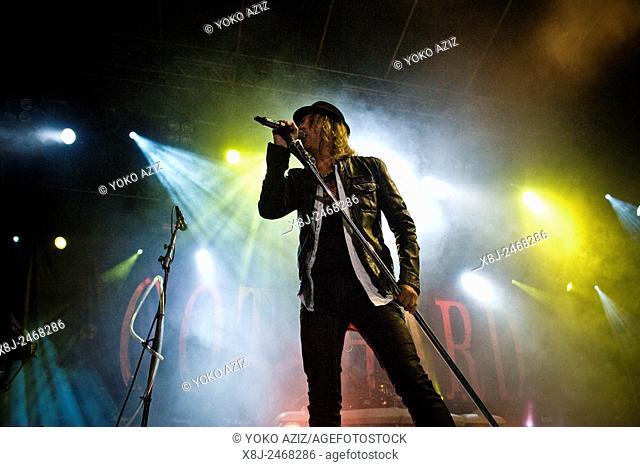 01. 08. 2015, Switzerland, Tenero, Gotthard band in concert