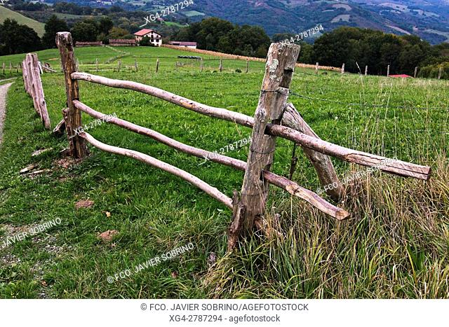 Caserío - Ziga. Baztán - Navarra. Pirineos. Spain