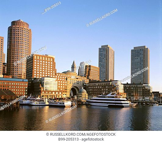 Downtown. Boston. Massachusetts. USA