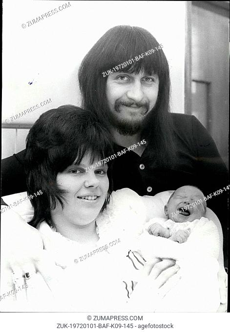 Jan. 01, 1972 - Introducing the Baby son of John Entwistle Guitarists with 'The Who': John Entwistle, saturnine bass guitarists with 'The Who'