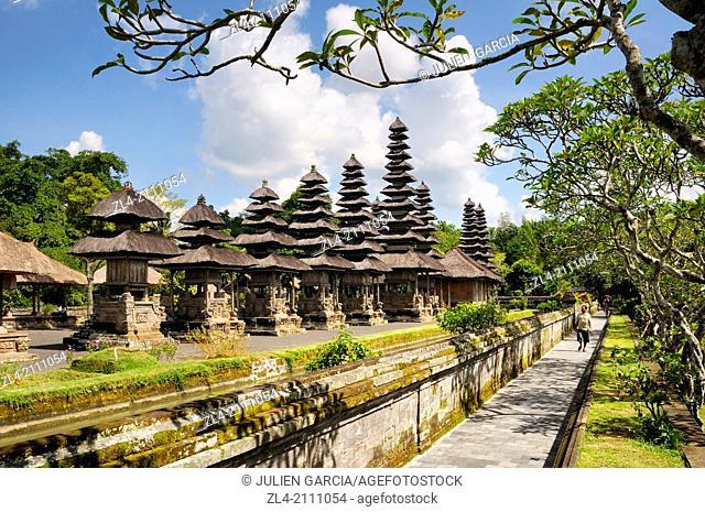 Pura Taman Ayun, the royal family temple. Indonesia, Nusa Tenggara, Bali, Mengwi, Pura Taman Ayun