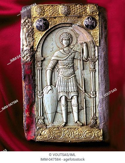 Exclusive: Mount Athos Hidden Treasures 9,1 - Icon with St  George