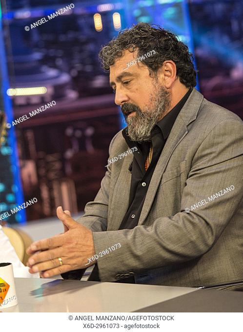 Francisco Martinez, Paco Tous at El Hormiguero TV show.Madrid. 09/05/2017.(Photo by Angel Manzano).
