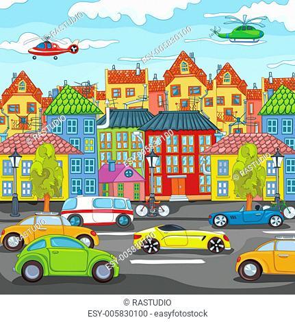 City Cartoon