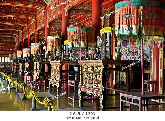 Ornate Vietnamese shrine