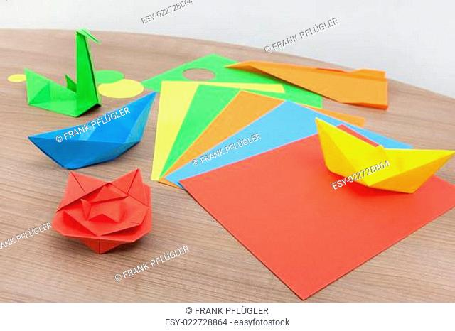 paper boat folding