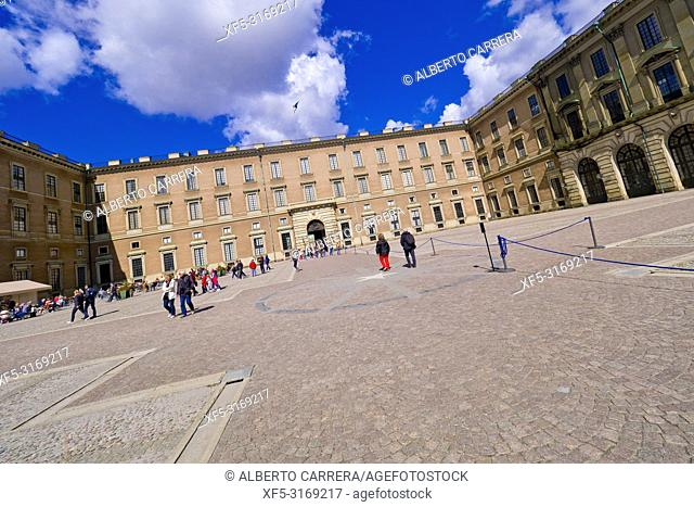 Stockholm Palace, Royal Palace, Stockholm, Sweden, Scandinavia, Europe
