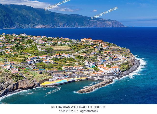 North Coast of Madeira, Ponta Delgada, Madeira, Portugal