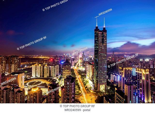 cityscape of Shenzhen