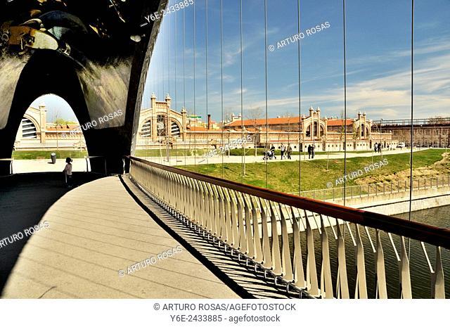 Matadero Bridge, Madrid