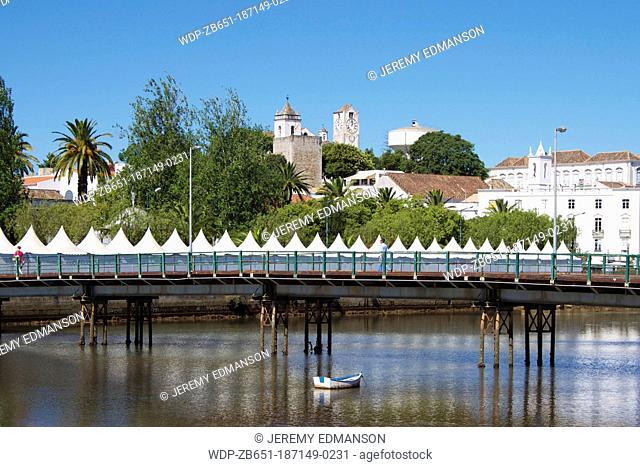 Quayside, Tavira, Algarve, Portugal