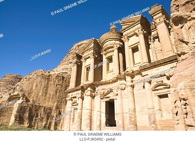 Stone Ruins of the Old Nabatean Monastery