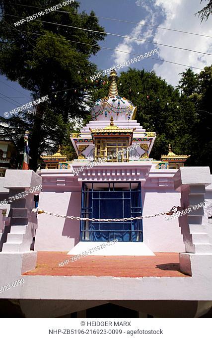 Lama Yeshe Stupa at Tushita Meditation Center