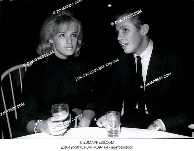 Jan. 01, 1965 - Well-known singing-stars gave press - conference in Munich Oon the occasion of some television-shows which are taken these days in Munich on...