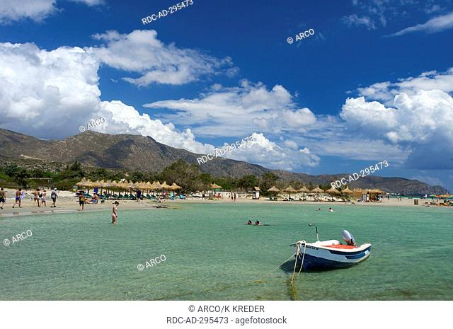 Elafonisi Beach, South Coast, Crete, Greece