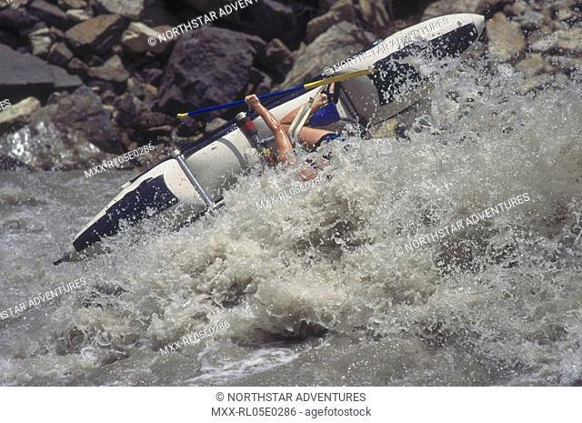 White Water Rafting, Karnali River, Nepal