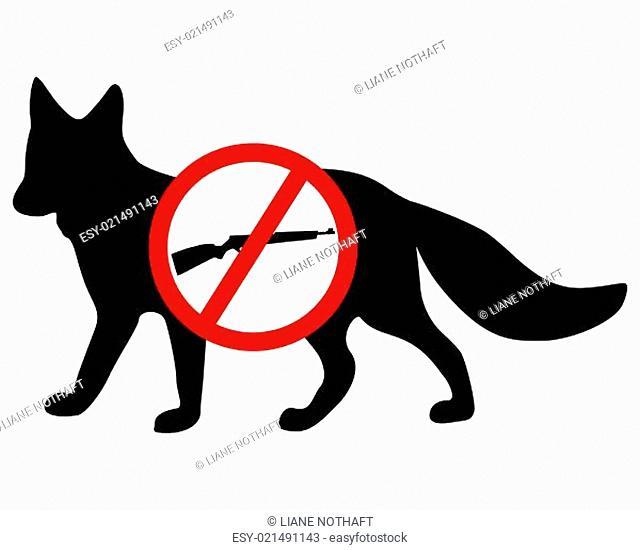 Verboten Fuchs Gewehr