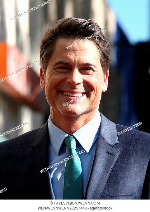 Rob Lowe honored with a star on the Hollywood Walk of Fame Featuring: Rob Lowe Where: Hollywood, California, United States When: 08 Dec 2015 Credit:...