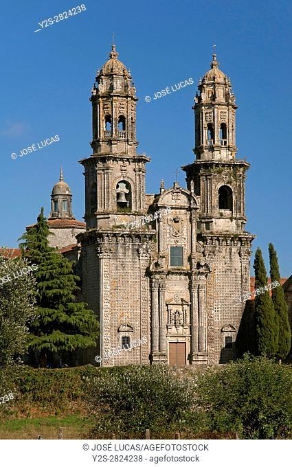 Cistercian monastery of Santa Maria (10th century), Sobrado, La Coruña province, Region of Galicia, Spain, Europe