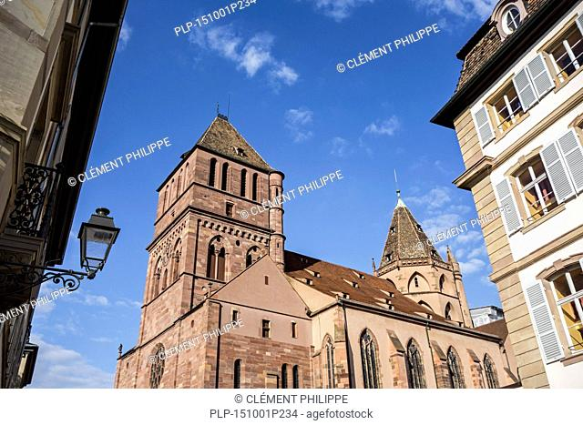 The Lutheran church of St. Thomas / Église Saint-Thomas de Strasbourg, Alsace, France