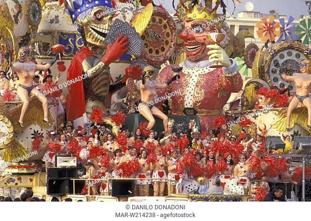 carnival, viareggio, italy