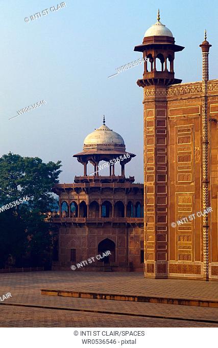 Temple at the Taj Mahal Complex