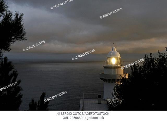 Lighthouse Igueldo, San Sebastian