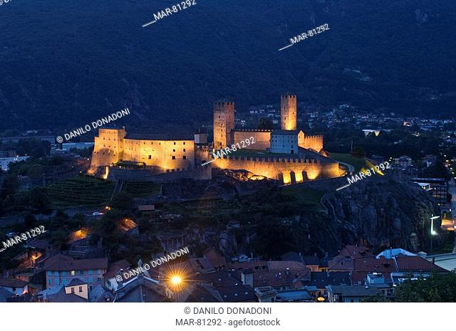 castelgrande, bellinzona, switzerland