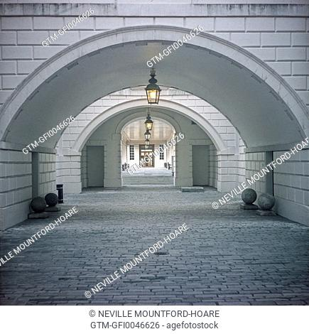 Arch within Queens House Greenwich