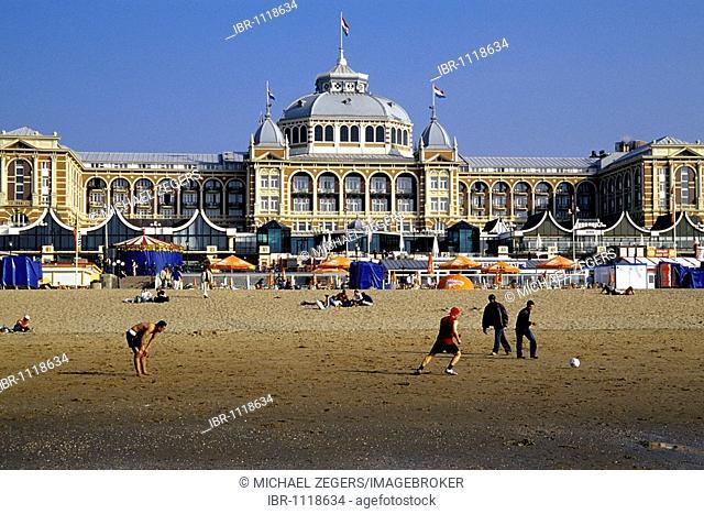 Steigenberger Kurhaus Hotel, a luxury hotel on the beach of Scheveningen, a sophisticated seaside resort neighbouring Den Haag on the Dutch North Sea coast