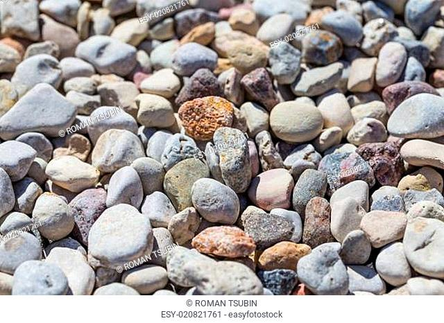 Beach stone background