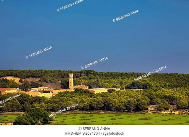Spain, Aragon, Huesca province, Los Monegros county, Sodeto