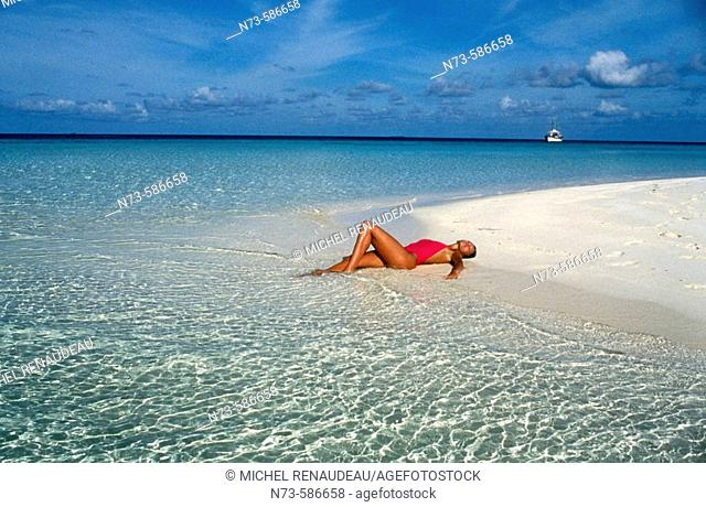 Holidays. Maldives
