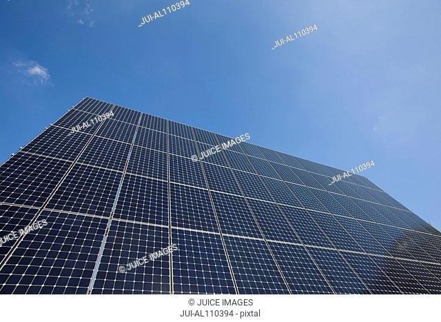 Solar Energy Photovoltaic Panels, Frankfurt - Main, Hesse, Germany