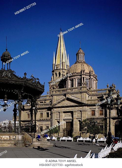 Mexico. Guadalajara Cathedral