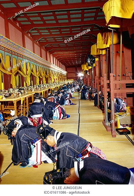 Jongmyo royal ancestral memorial ceremony