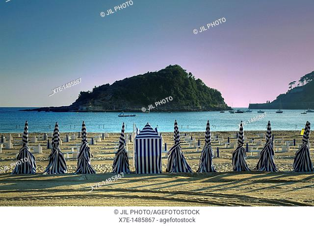 Ondarreta beach  La Concha Bay  Donostia-San Sebastian  European Capital of Culture 2016