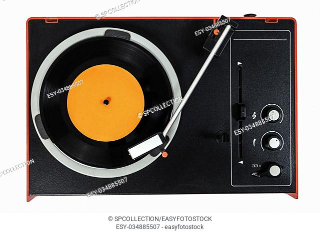 Old turntable