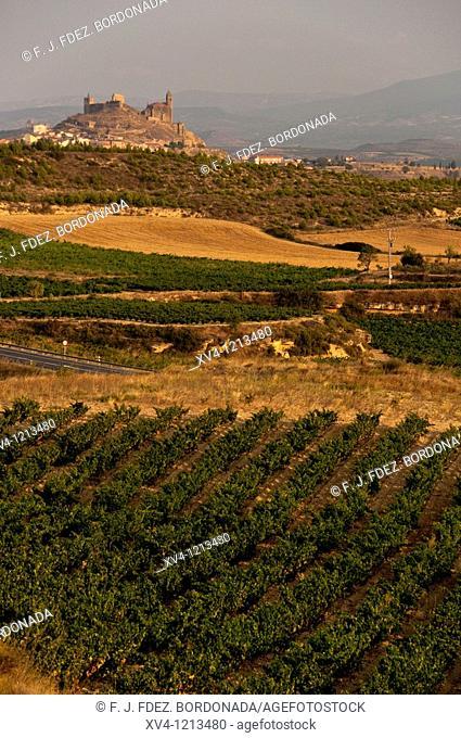 San Vicente de la Sonsierra  La Rioja  Spain