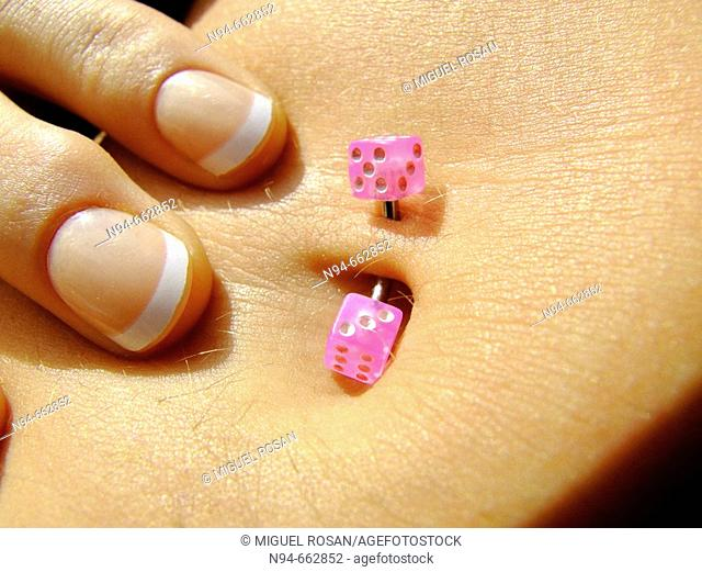 dices pink of Sandra