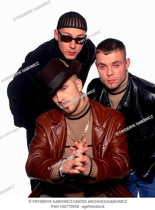 """""""""""East 17"""", britische Boyband, Deutschland 1995. British boy band """"East 17"""", Germany 1995. 