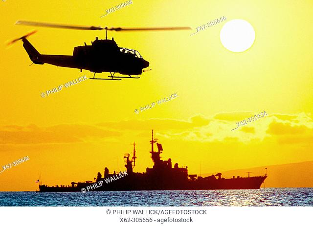 AH-1 Sea Cobra helicopter (USMC)