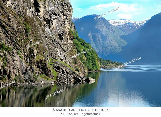 Aurlandfjord,sogn og Fjordane,Norway